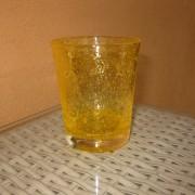 a/1 verre bullé jaune