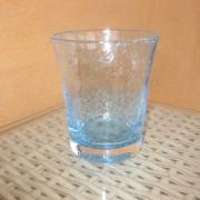 a/1 verre bullé turquoise