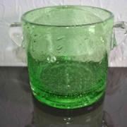 a/Seau à glaçe vert